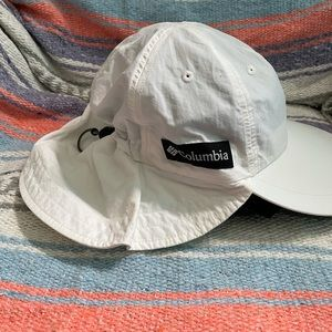Columbia hat with shade protection
